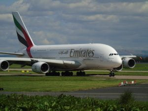 מטוס חברת אמירטס
